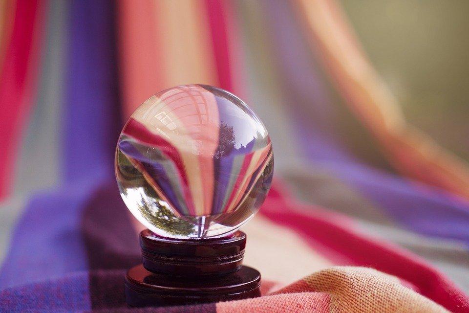 Boule, Verre, Rond, Réflexion, Mise En Miroir, Coloré