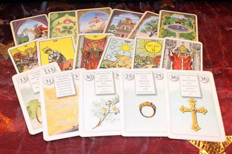 New Age, Voyance, Cartes, Cartes À Jouer, Oracle